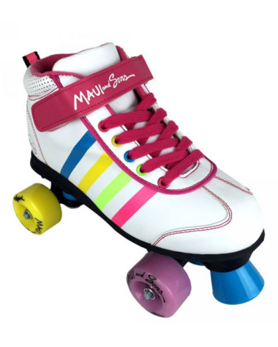 MAUI Superstar rollerskate white