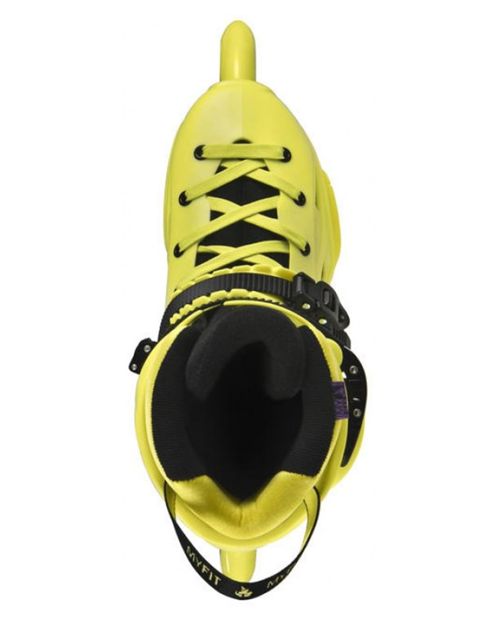 Powerslide Imperial Yellow: POWERSLIDE Imperial Megacruiser 125, Neon Yellow 2017