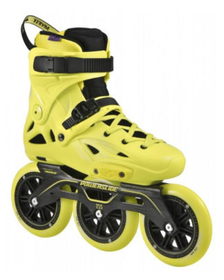 Powerslide Imperial Megacruiser 125, neon yellow 2017