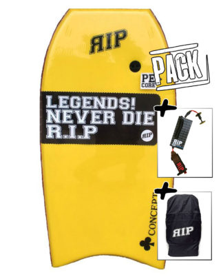 RIP Concept PE yellow - PACK (+ housse, + leash)