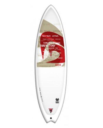 SURFACTORY Fish 5'10 rider