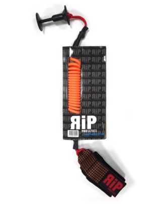 RIP leash bodyboard poignet orange