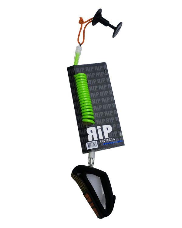 RIP leash bodyboard poignet vert