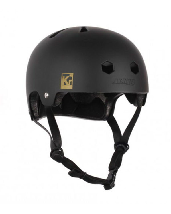 ALK13 Helmet Krypton Black Warm yellow