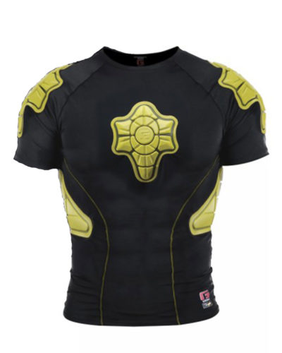 G-FORM Plastron Pro-X Compression black / yellow