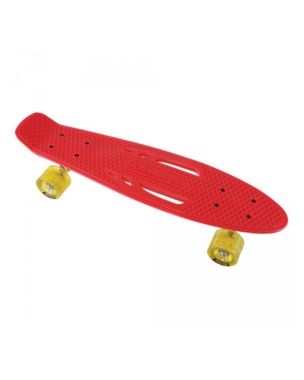 MAUI Karnage 23 retroskate cut red
