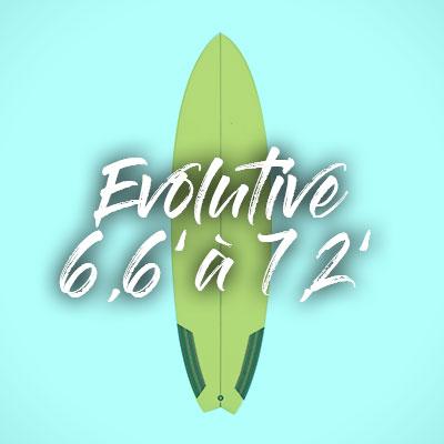 """Evolutive 6,6"""" à 7,2"""""""