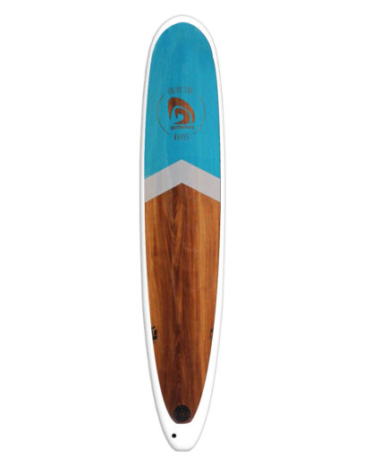 SURFACTORY Longboard wood