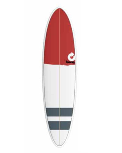 TORQ Fun 7'2 blanc bordeaux