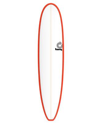TORQ Longboard 8'6 red pinline