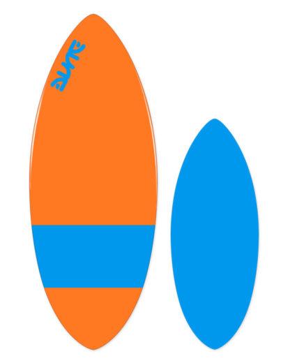 Skim board DUNE Lim - bleu / orange