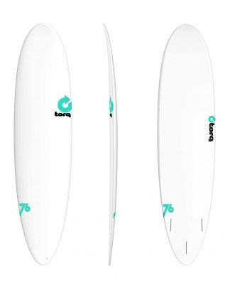 Planche surf TORQ Pineline fun 7'6 white/white