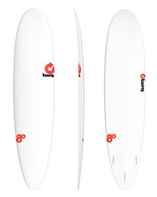 Planche surf TORQ Rental long 8' - white