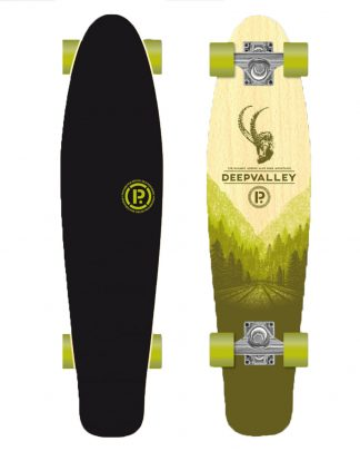 Skate PROHIBITION retro wood cruiser Deep valley - 28