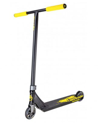 Trottinette freestyle ADDICT Defender MK2 - black yellow