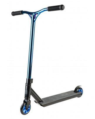Trottinette freestyle Blazer pro outrun FX - bleu chrome