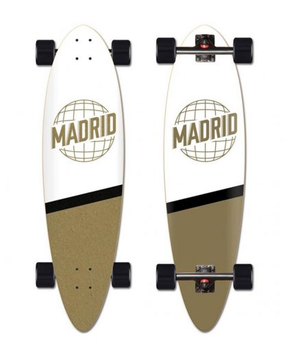 longboard MADRID Blunt 36.25 world white gold