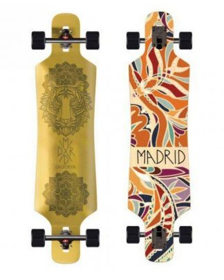 longboard MADRID Spade drop thrue 39 golden tigress