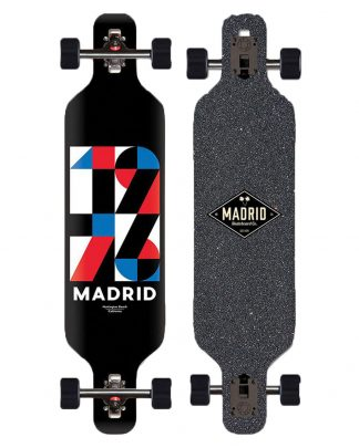 longboard MADRID trance top munt 40 shapes