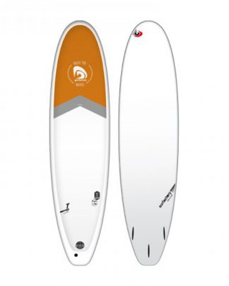 Planche surf SURFACTORY fun board 7,4 authentic orange