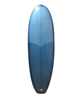 Planche surf VON SURF BOARD 6'4 bleu