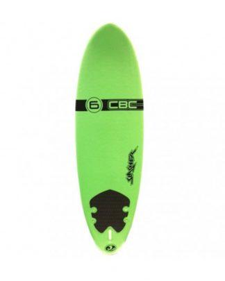"""Planche surf mousse CBC Verte 6'0"""""""