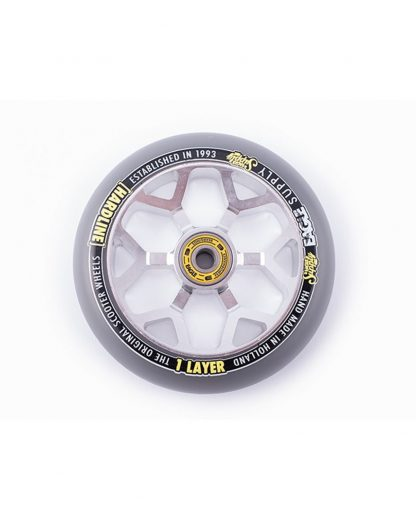 Roue EAGLE hardline 1 layer 24x110mm par 1 sliver-grey